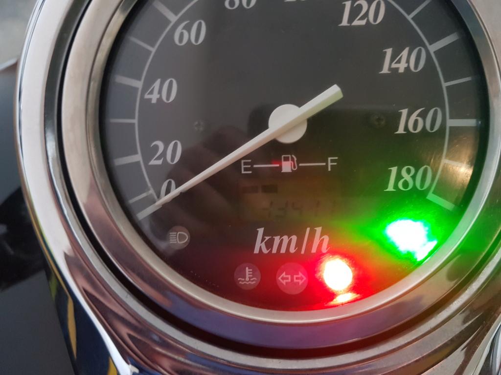 Speedometer problem 20181210