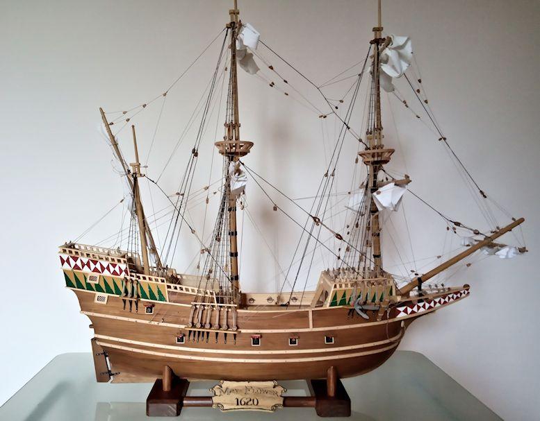 Ricostruisco la Mayflower 1010