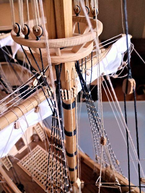 Ricostruisco la Mayflower 110