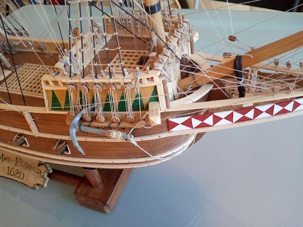 Ricostruisco la Mayflower 510