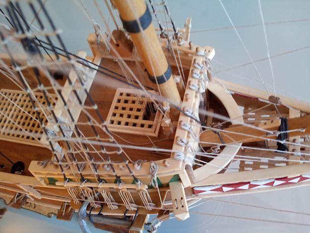 Ricostruisco la Mayflower 610