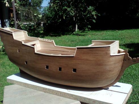 Ricostruisco la Mayflower Bordat10