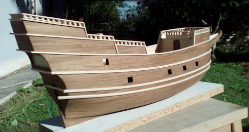 Ricostruisco la Mayflower Incint10