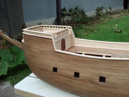 Ricostruisco la Mayflower Parape11