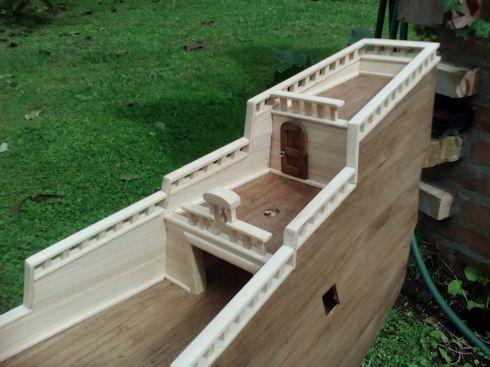 Ricostruisco la Mayflower Parape12