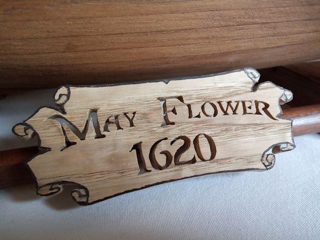 Ricostruisco la Mayflower Targa10