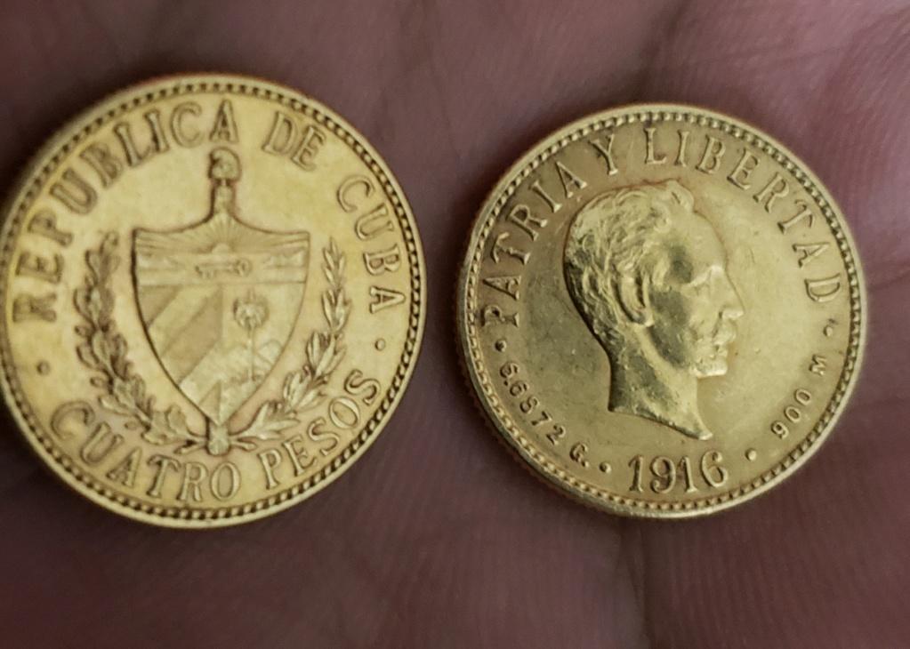 4 pesos de Cuba difícil de encontrar 20190120