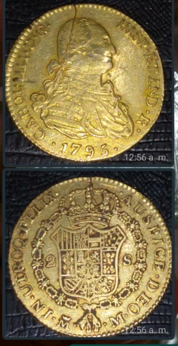 2 escudos de 1795 endayador M Screen10