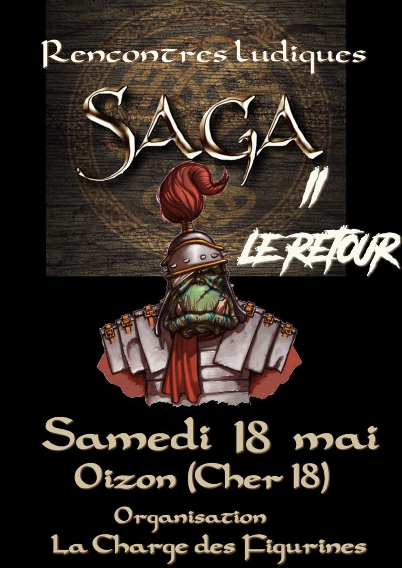 Rencontres SAGA 2019  II Le Retour Oizon dans le Cher Affich10