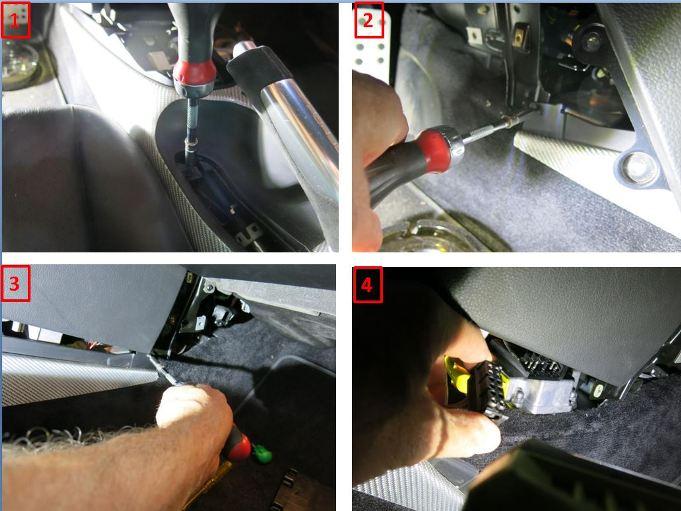 Rpl des câbles de transmission de boîte de vitesses - 997 C2S 1010