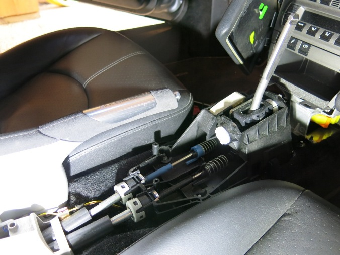 Rpl des câbles de transmission de boîte de vitesses - 997 C2S 1210