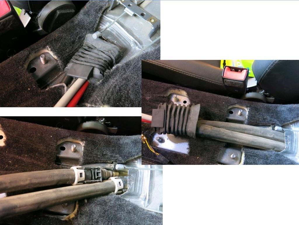 Rpl des câbles de transmission de boîte de vitesses - 997 C2S 2111