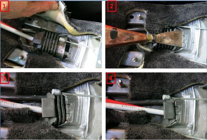 Rpl des câbles de transmission de boîte de vitesses - 997 C2S 2611
