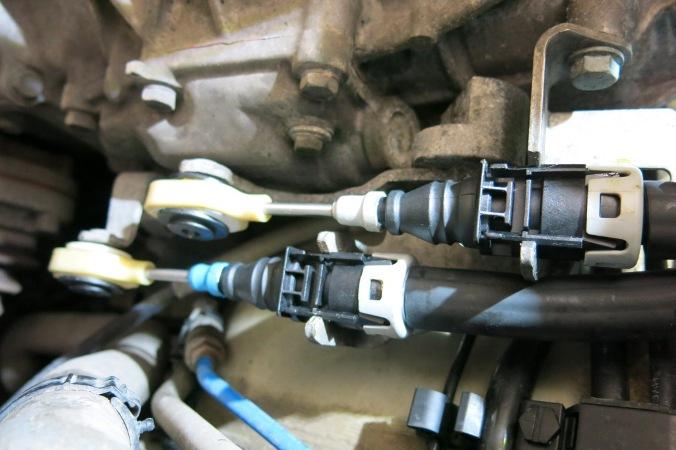 Rpl des câbles de transmission de boîte de vitesses - 997 C2S 2710