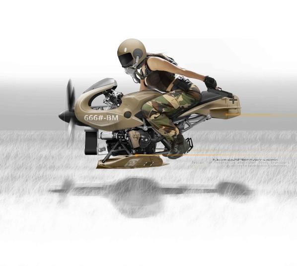 moto volante  Profil10