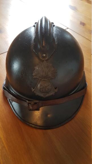Casque Adrian infanterie coloniale 20190520