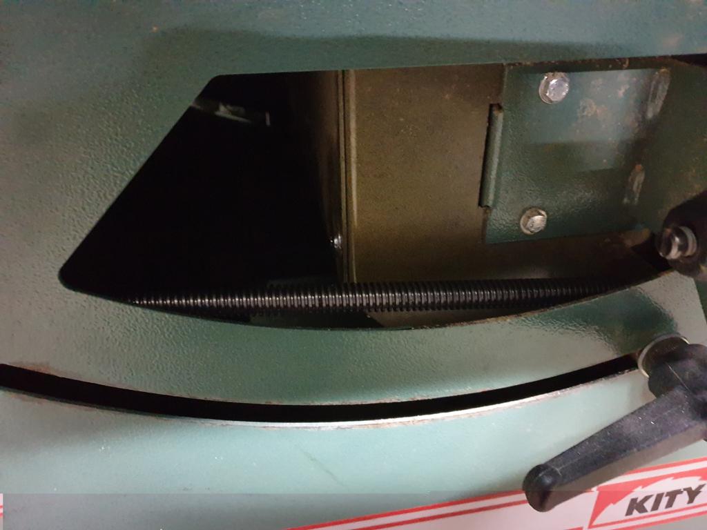 Inclinaison scie sur KITY 609A FIN de REalisation Monte10