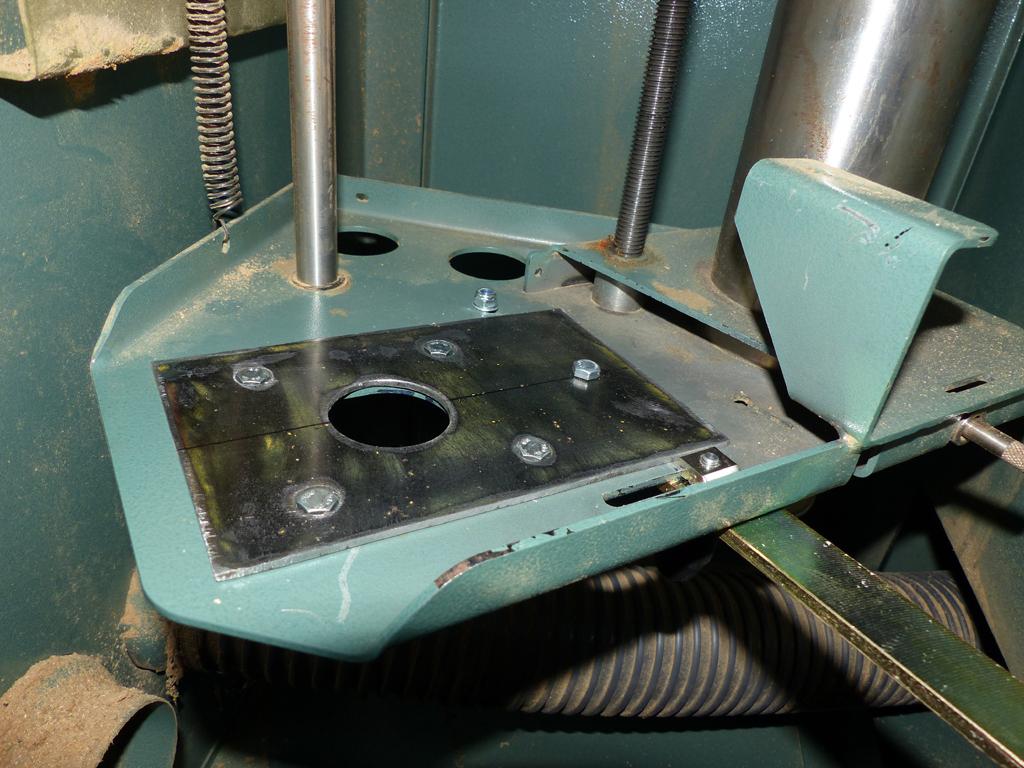 modification poulie moteur Kity 609A P1030312
