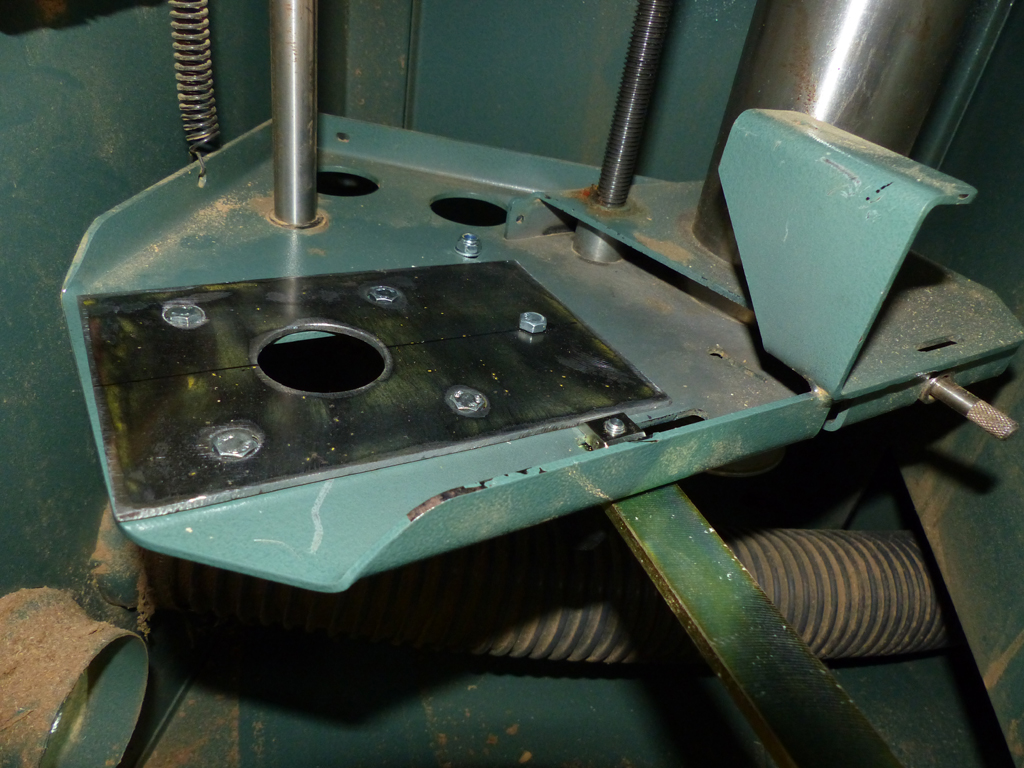 modification poulie moteur Kity 609A P1030313
