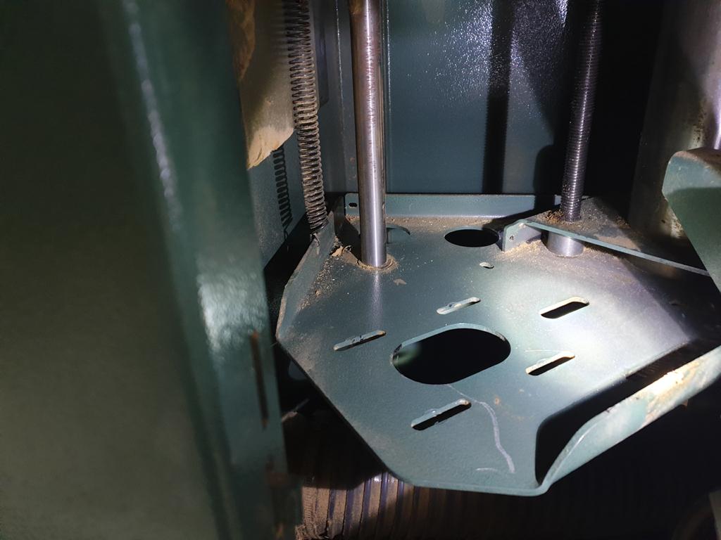 modification poulie moteur Kity 609A Suppor11