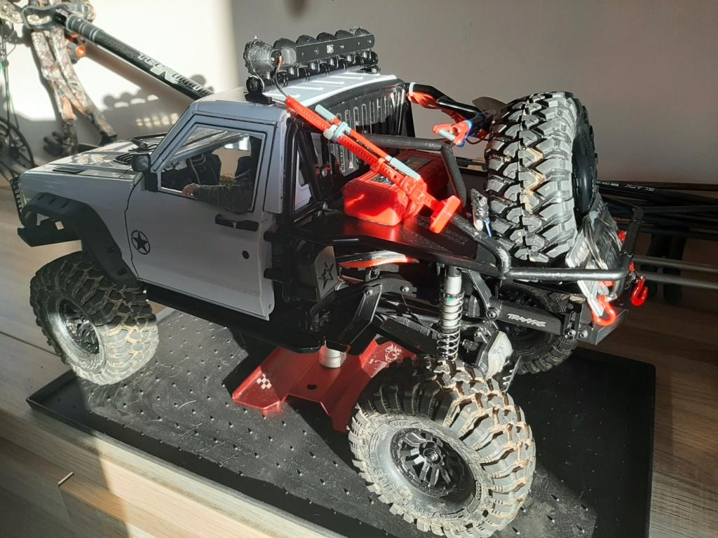Augmenter le débattement de suspension arrière chassis trx4 20210315