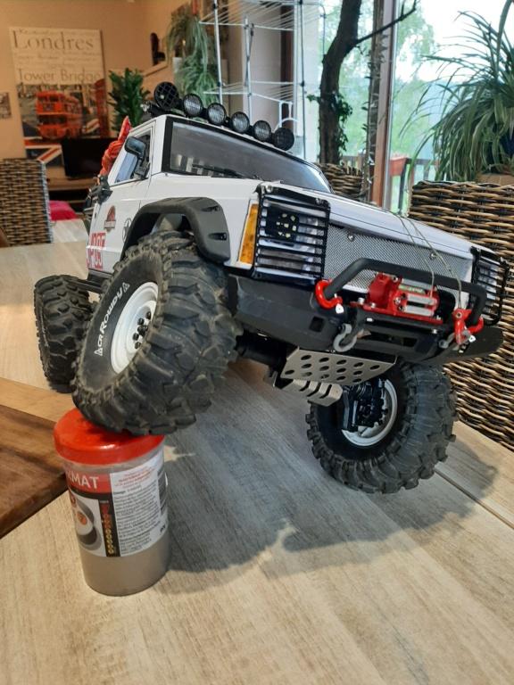 Augmenter le débattement de suspension arrière chassis trx4 20210417