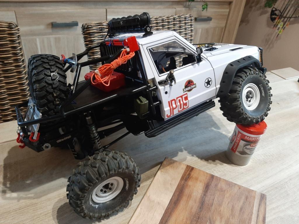 Augmenter le débattement de suspension arrière chassis trx4 20210418