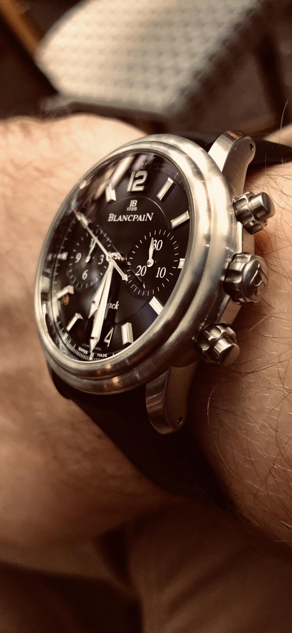 Ma nouvelle : Blancpain Chrono Leman Flyback Img_4010