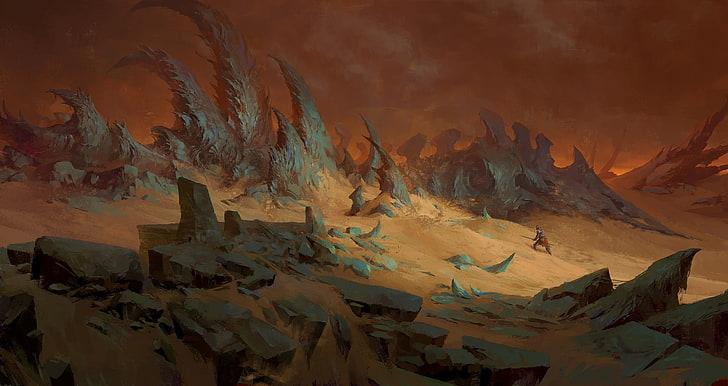 La terre des démons Artwor10