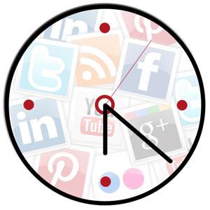 Como saber a que hora publicar en redes sociales Hora10