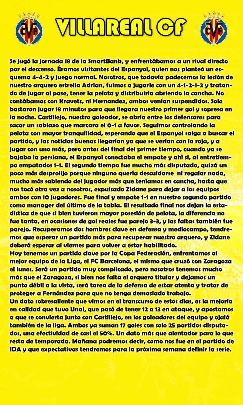 Empate y Copa Federación Villar12