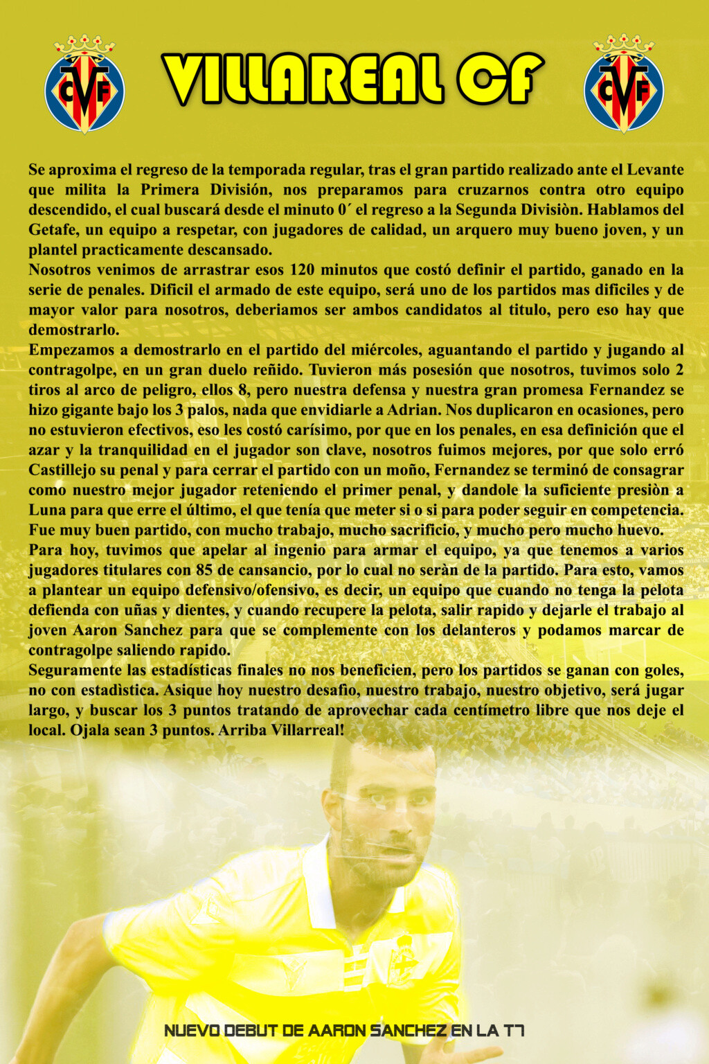 VILLARREAL CF Villar26