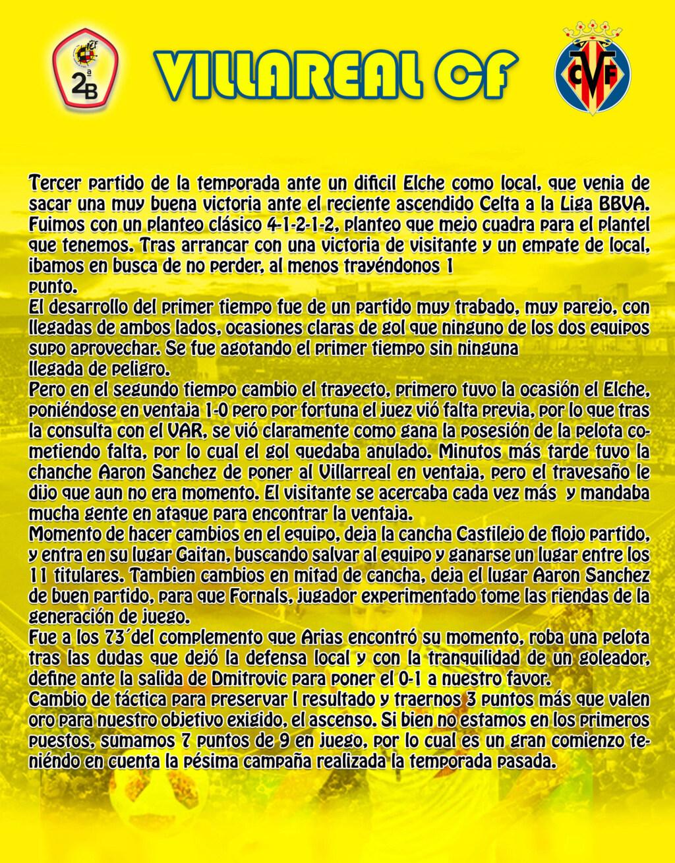 VILLARREAL CF Villar29