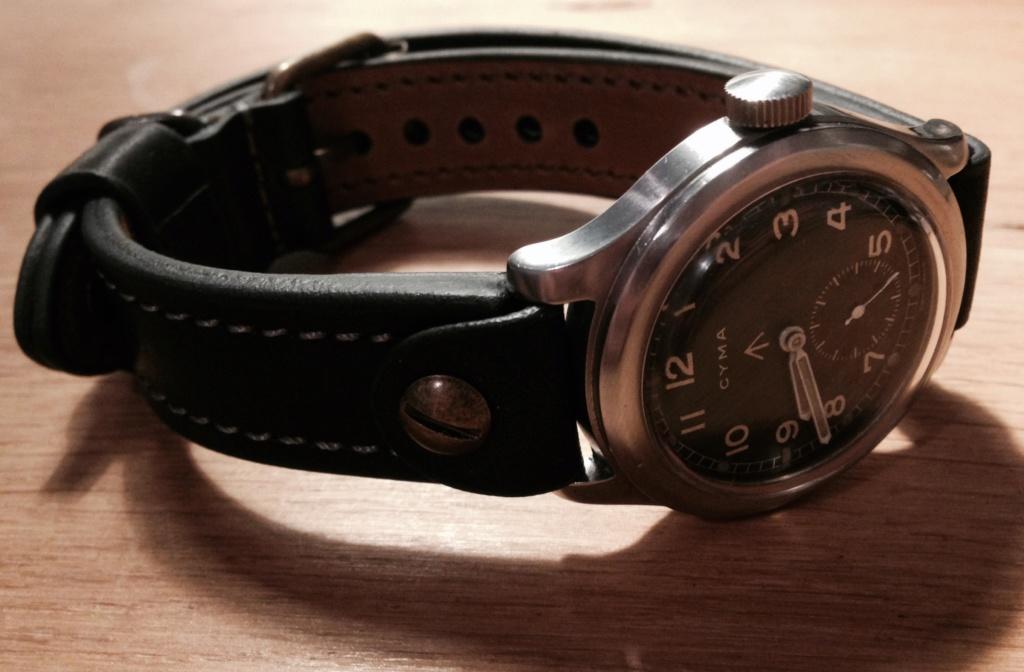 bracelet ouvert pour montre militaire à anses soudées Fullsi15