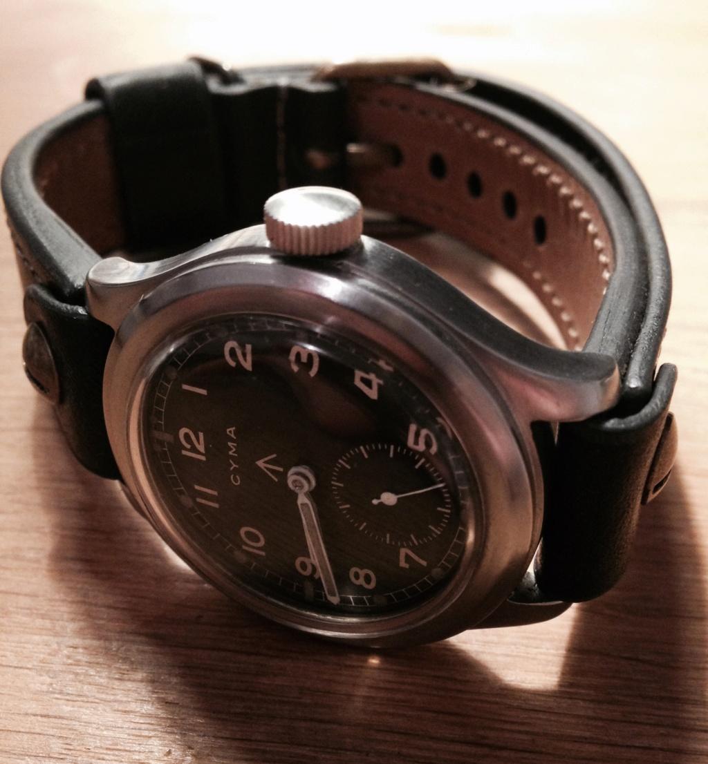 bracelet ouvert pour montre militaire à anses soudées Fullsi16