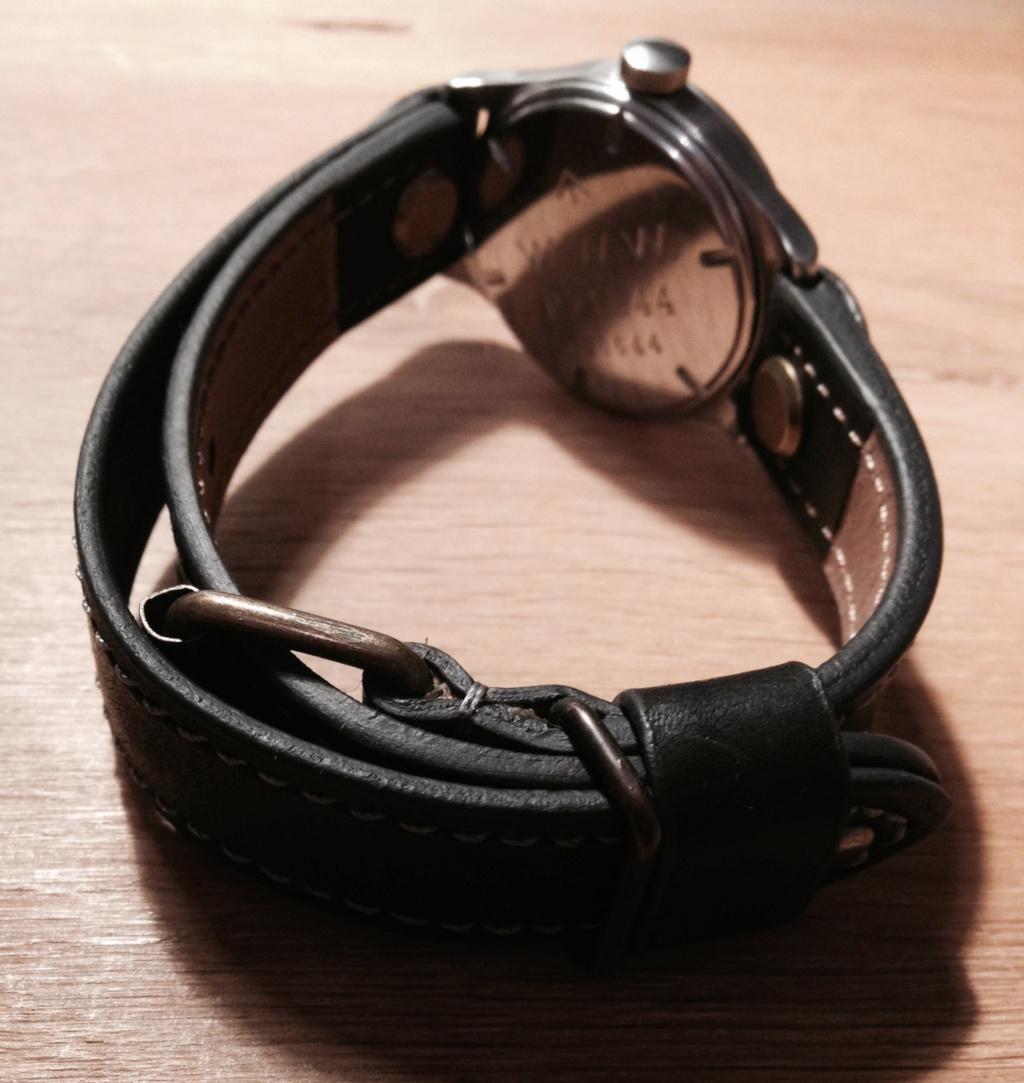 bracelet ouvert pour montre militaire à anses soudées Fullsi17