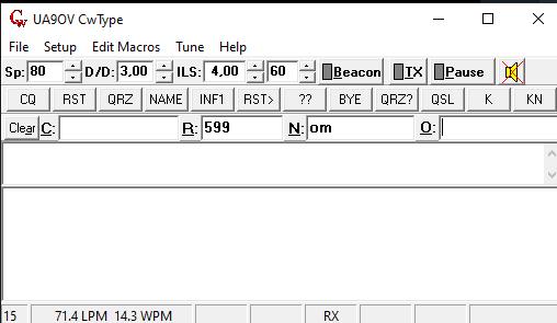 Interface CW - Para TX con teclado del PC 510