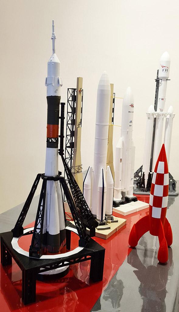Vos collections de maquettes sur le spatial Fuszoe13
