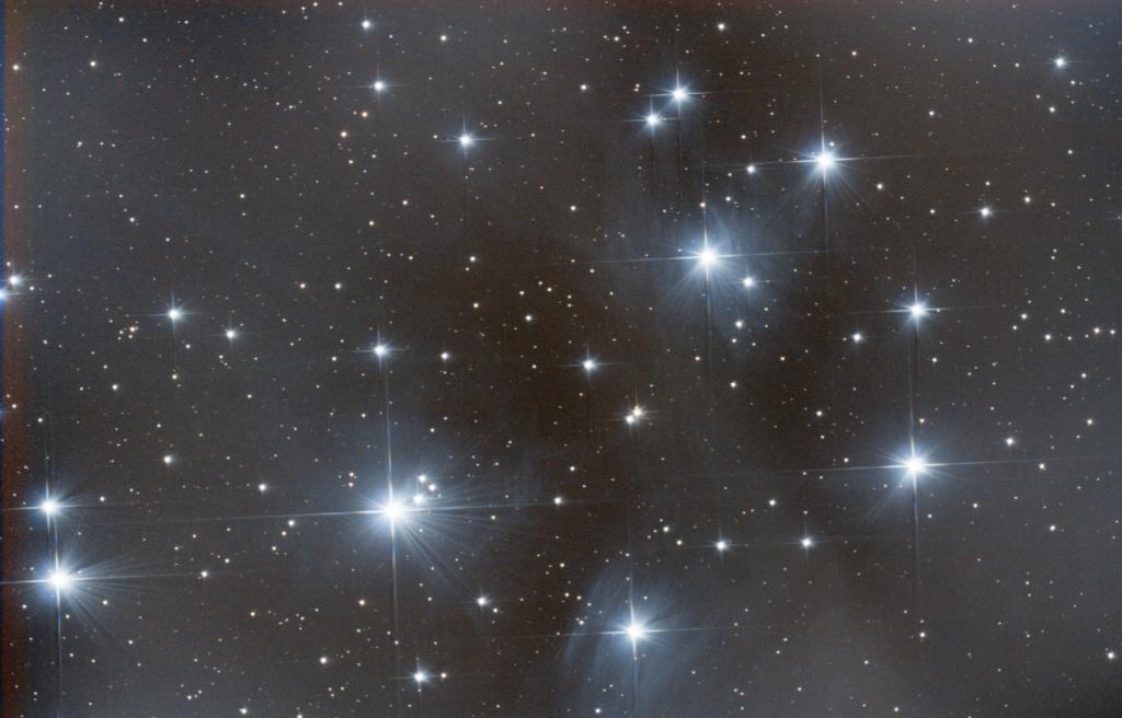 M45, un soir de pleine lune M45_2010