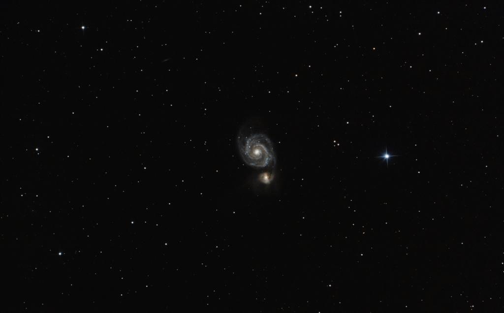 M101 et M51 en été M51_2010