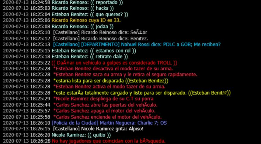 [Reporte] Ricardo Reinoso 20200711