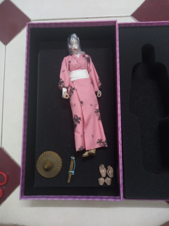 Wolfking - NEW PRODUCT: WOLFKING: (modified version) 1 / 6 rogue series - Atong ATONE movable doll WK89018A Img_2031