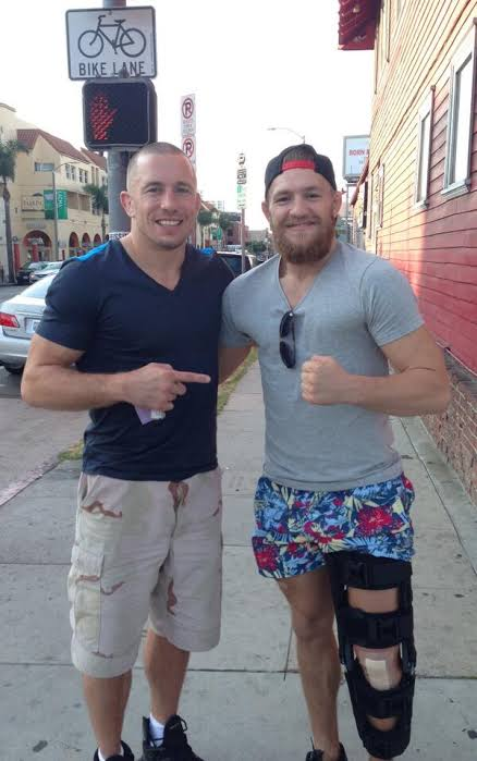 ¿Cuánto mide Georges St Pierre? - Real height Images90