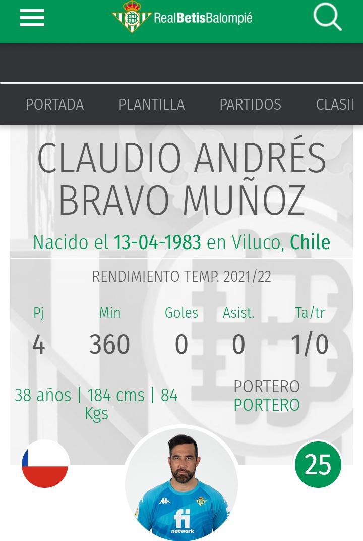 ¿Cuánto mide Claudio Bravo? - Altura real - Real height Screen17