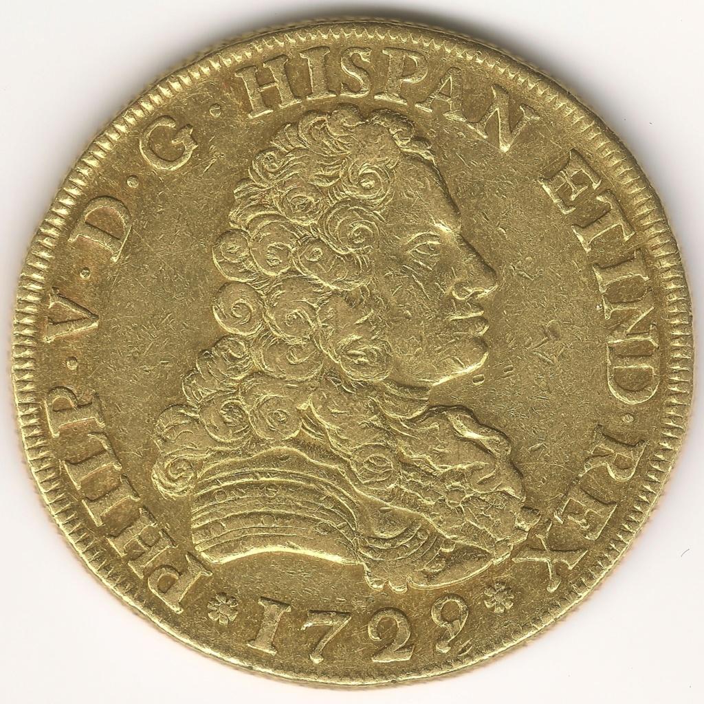 8 ESCUDOS FELIPE V 1729 Colección 8 Escudos 1701-1822 293anv10