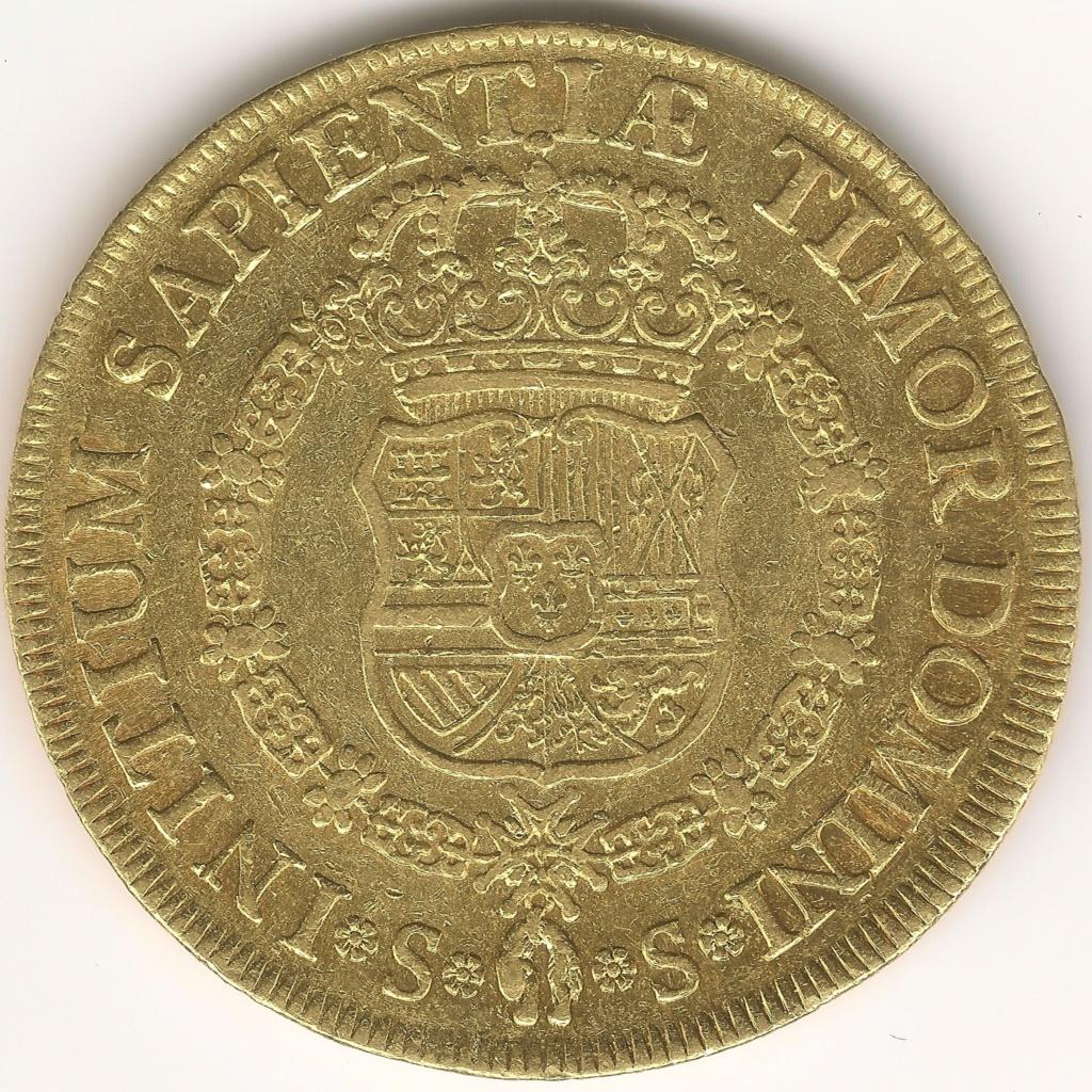 8 ESCUDOS FELIPE V 1729 Colección 8 Escudos 1701-1822 293rev10