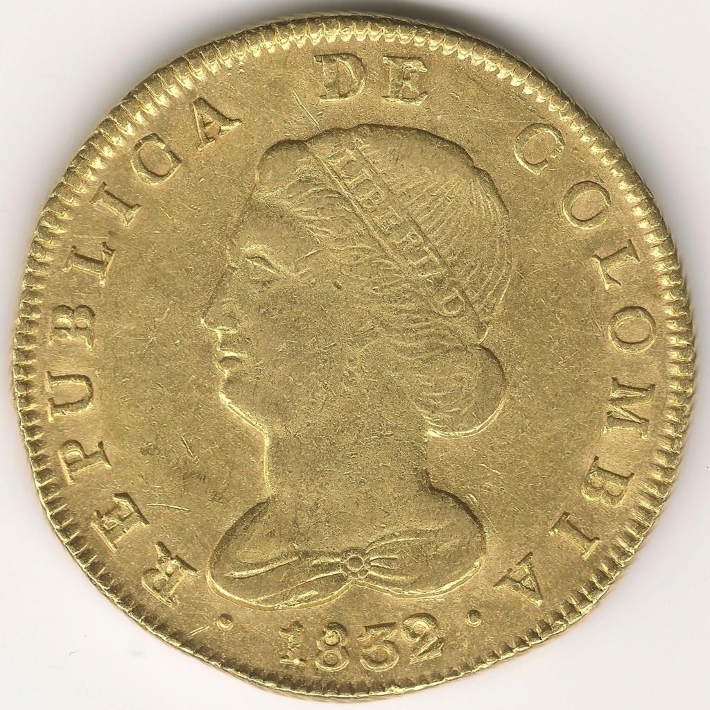 8 ESCUDOS COLOMBIANOS colección 8 escudos 368a10
