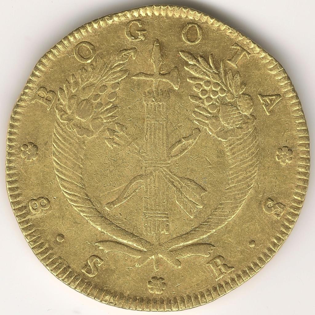 8 ESCUDOS COLOMBIANOS colección 8 escudos 368r10