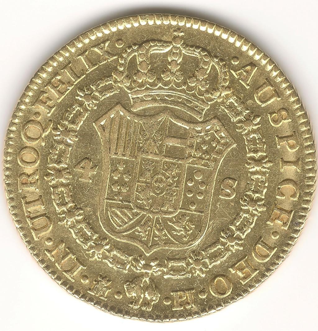 4 Escudos 1782 Madrid PJ Esczen11