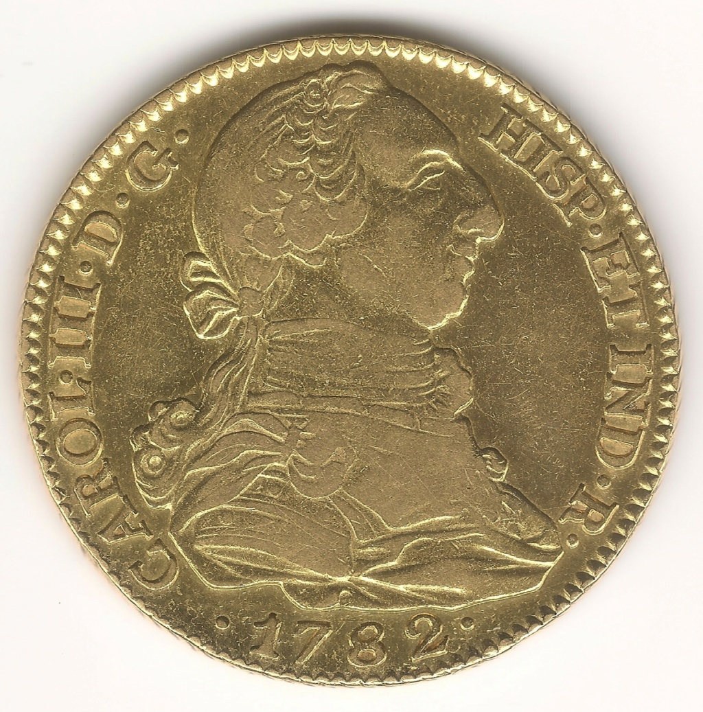 LA PAREJA de 4 Escudos 1782 Madrid JD Esczen12